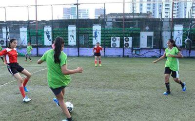 Football match at iLead